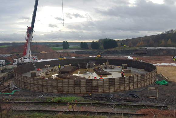 Beg Nov construction started of biogas injection plant in Nottinghamshire